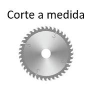 Corte a medida de eje octogonal