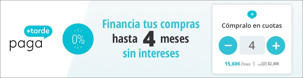 Financiación a 4 meses sin intereses