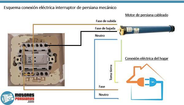 Como van los cables del interruptor