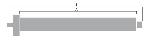 Medidas de un motor de persiana
