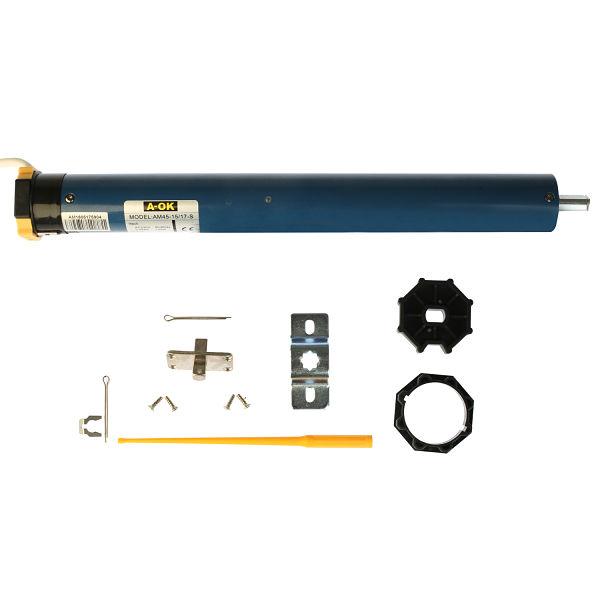 Motor A-OK AM45 para eje tubular de persiana o toldo de 60mm