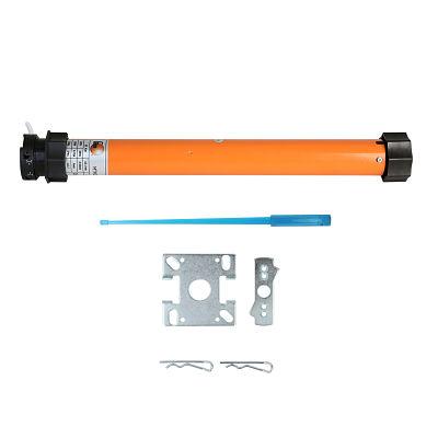 Kit completo para motor de persiana con eje de 60 mm y adaptador de cajón compacto o monoblock.